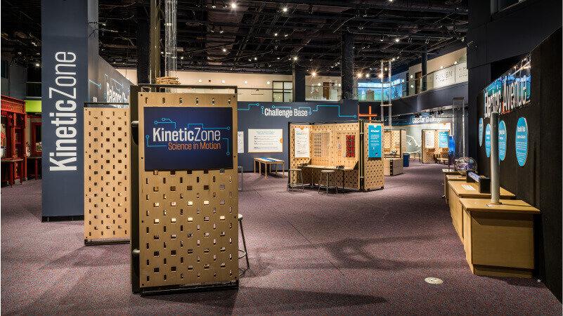 Kinetic Zone Exhibit Hall