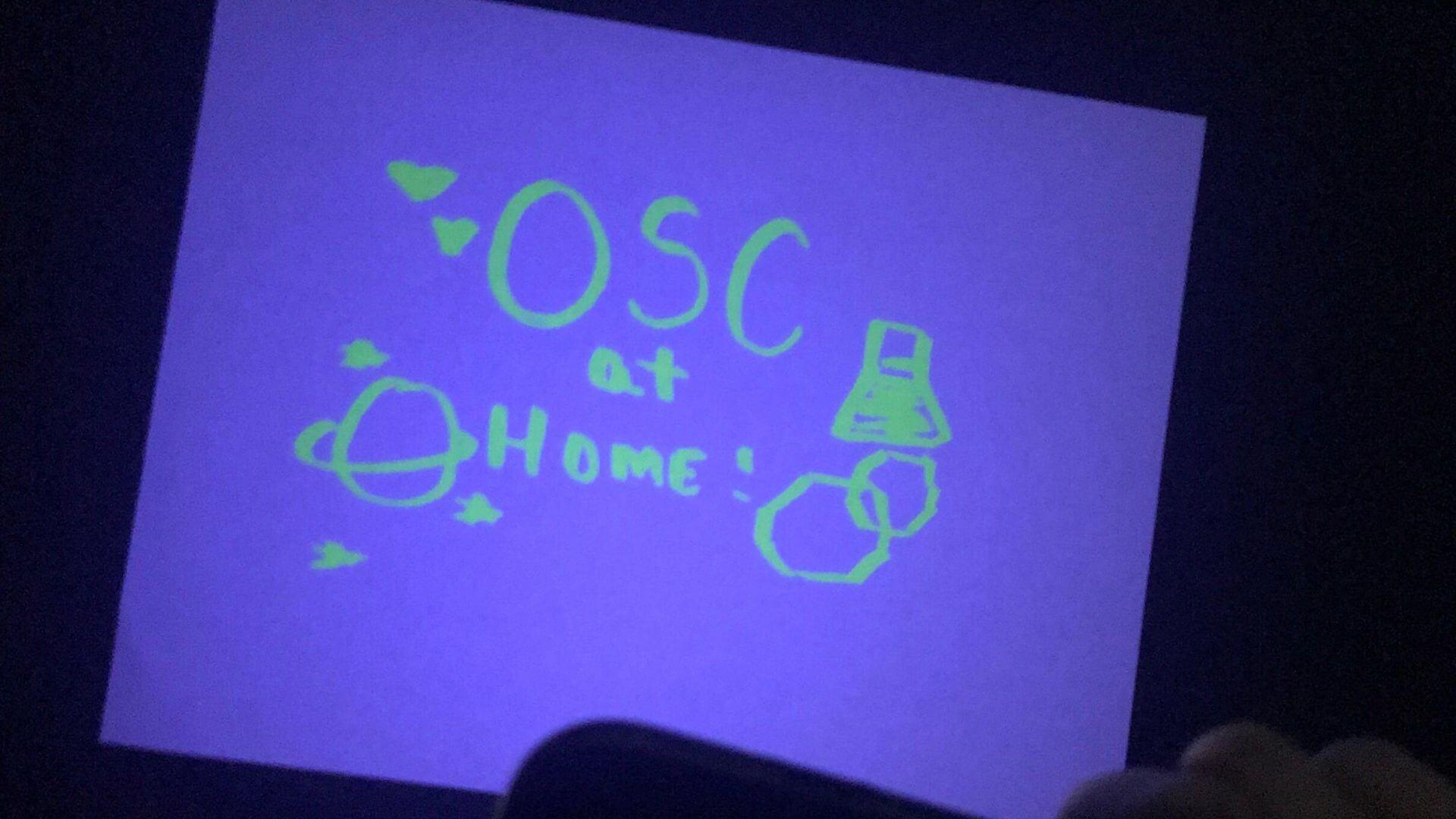 Orlando Science Center DIY Blacklight