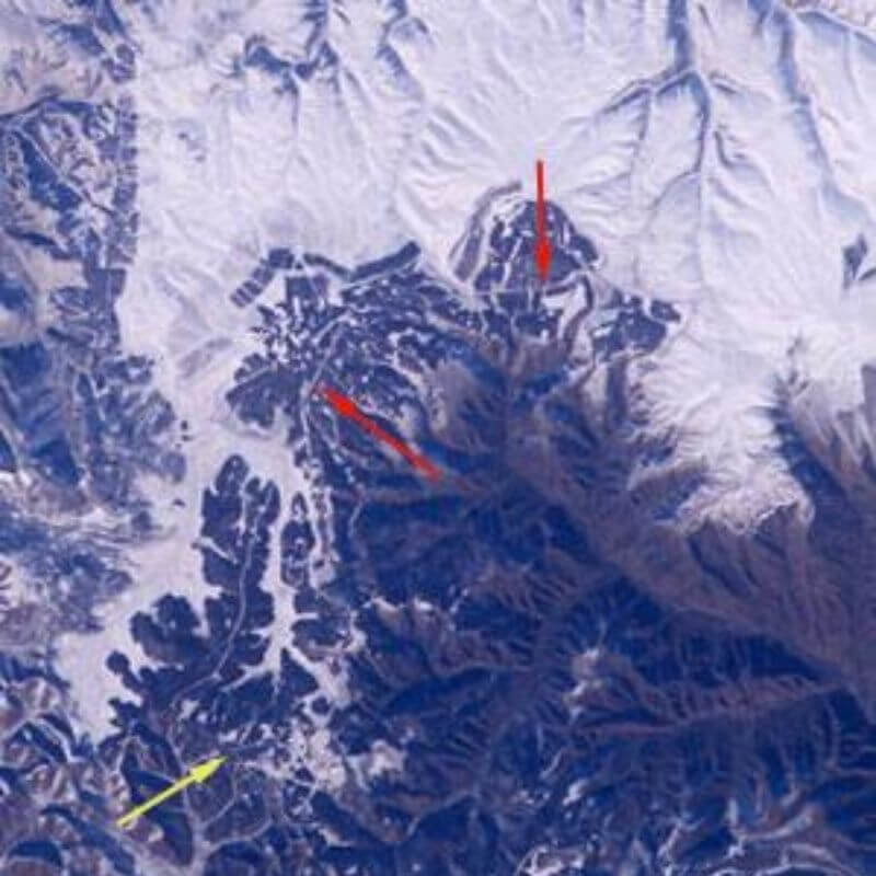 great wall of china from space popular science myths