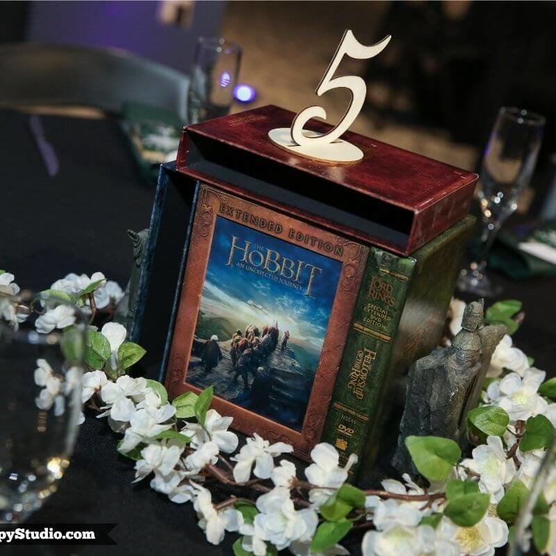 Lord of the rings center piece