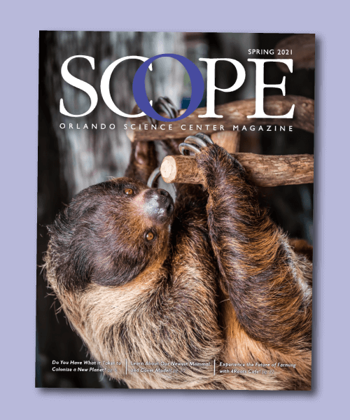 Scope Magazine Cover Spring 2021
