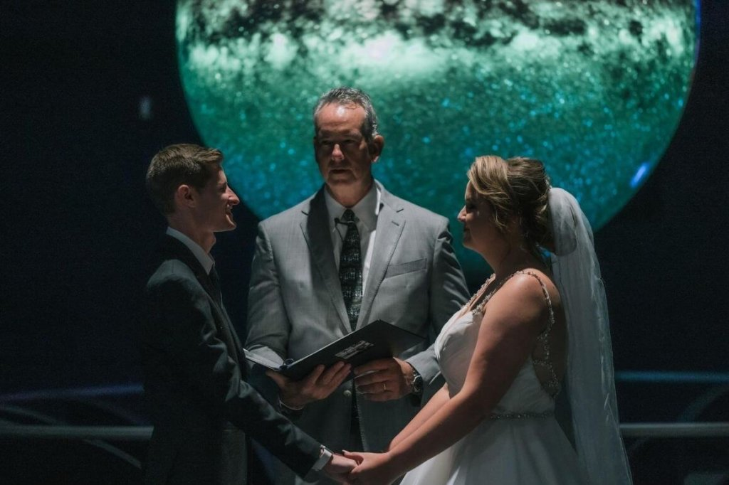 intimate weddings in orlando science center
