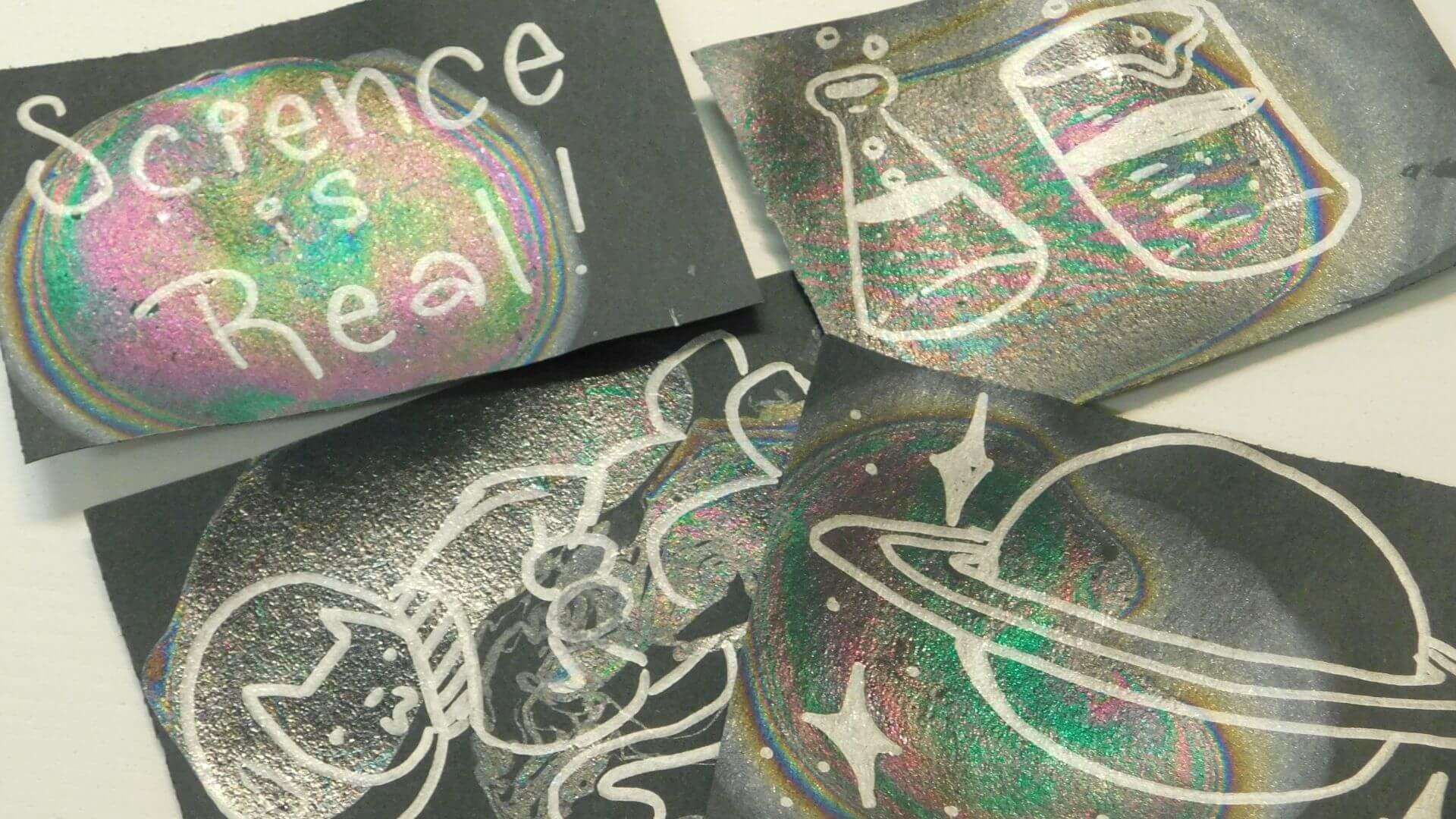 Iridescent Bookmark Orlando Science Center