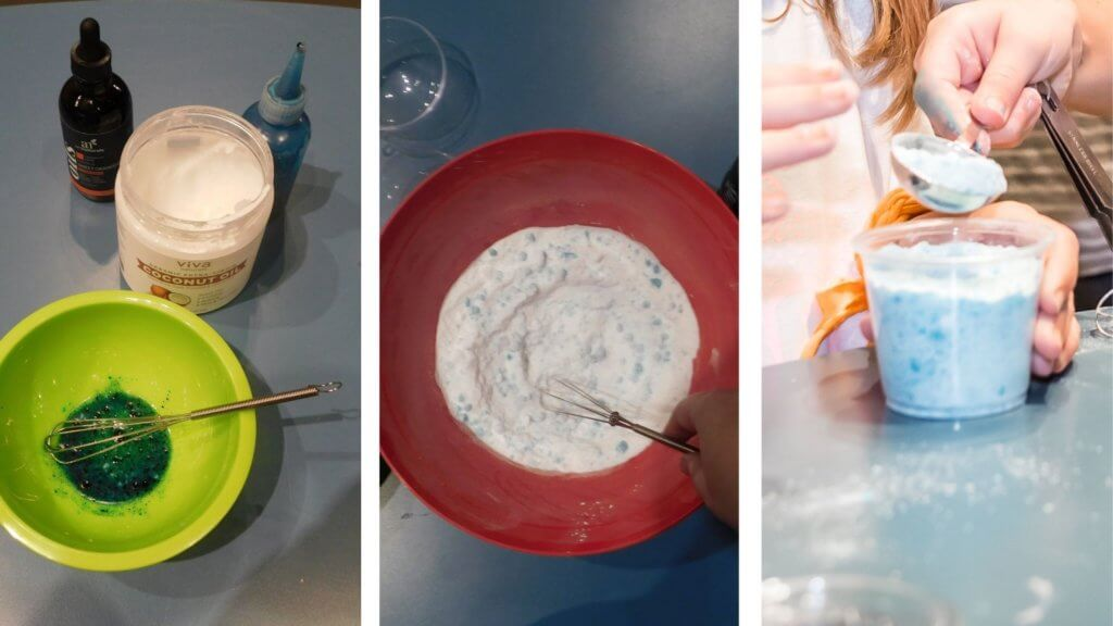 how to make bath fizzers with Orlando Science center