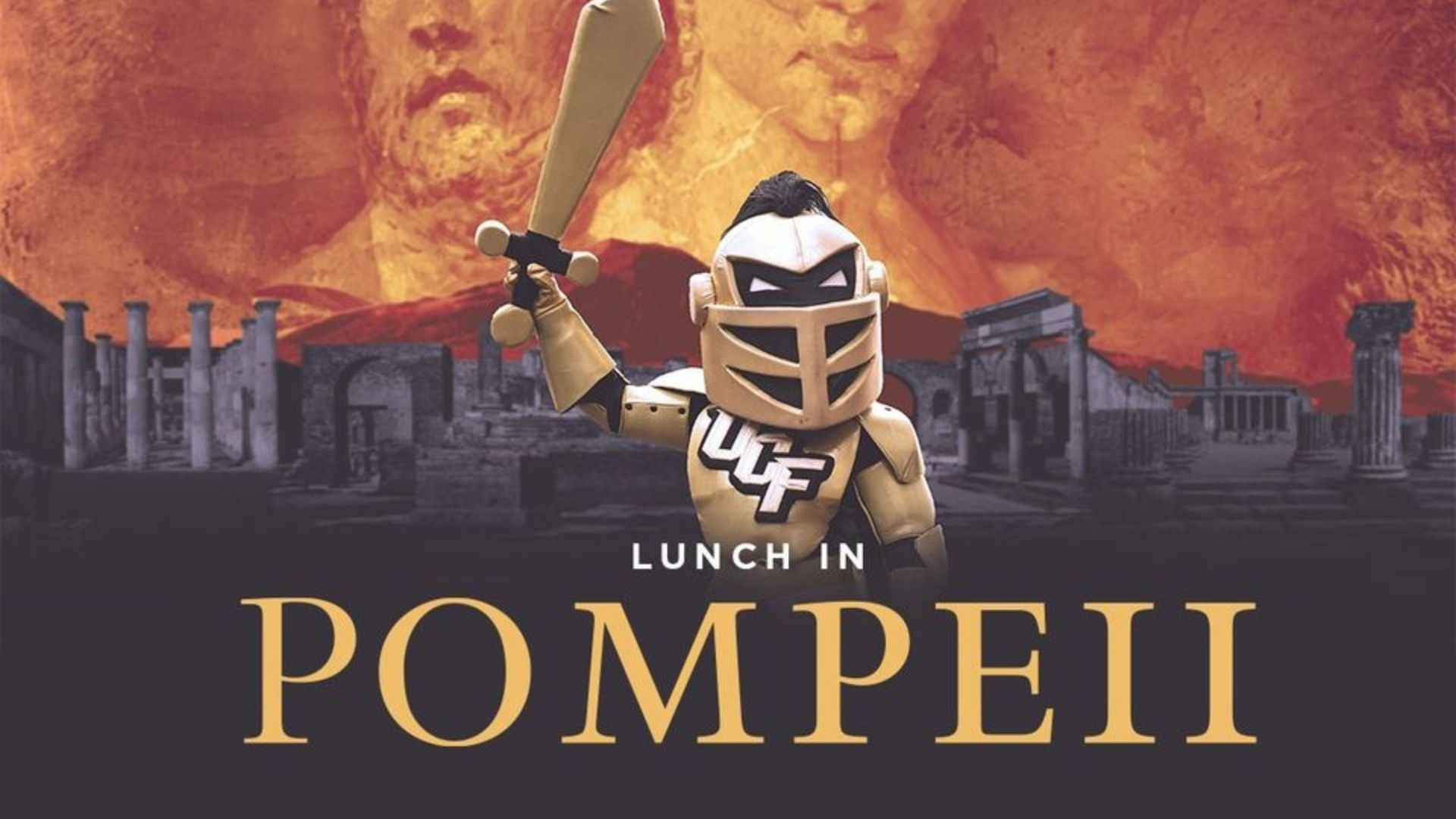 Lunch in Pompeii