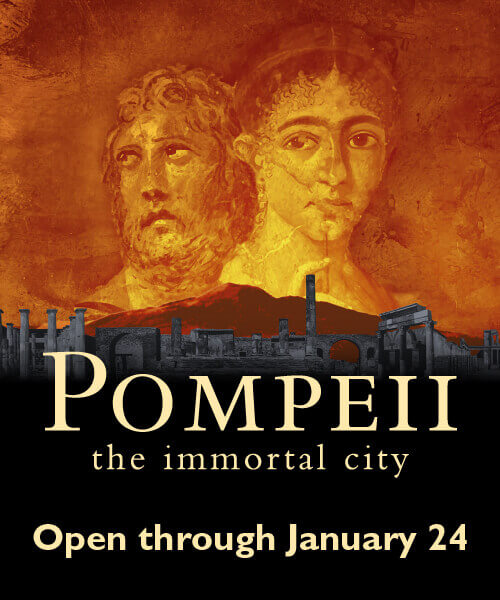 Pompeii: the Immortal City Exhibit - Open Through January 24