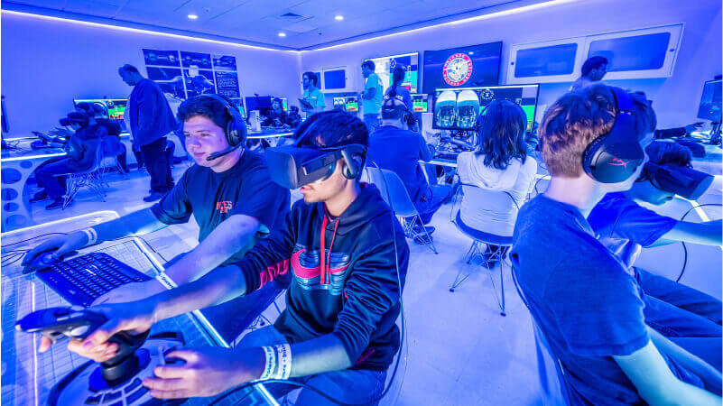 Group Activity in the Flight Lab