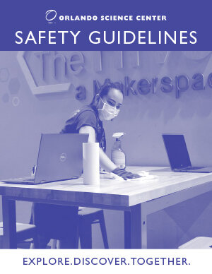 Orlando Science Center Safety Guidelines Cover