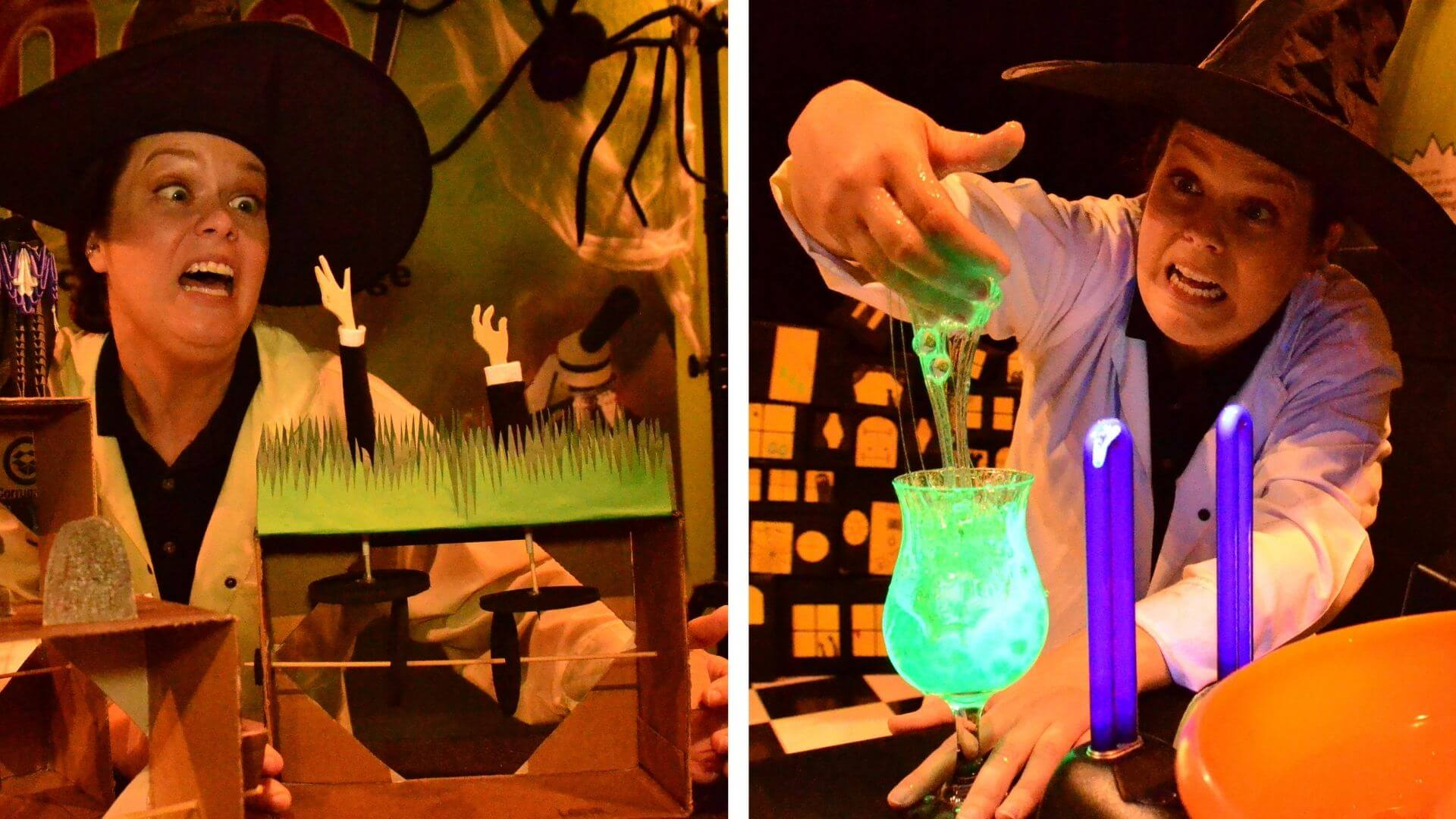 Simple sensory STEAM activities with Orlando Science Center