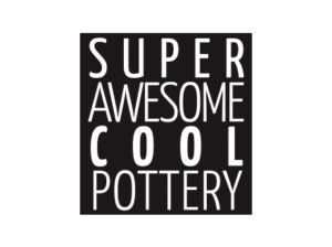 Super Awesome Cool Pottery Logo