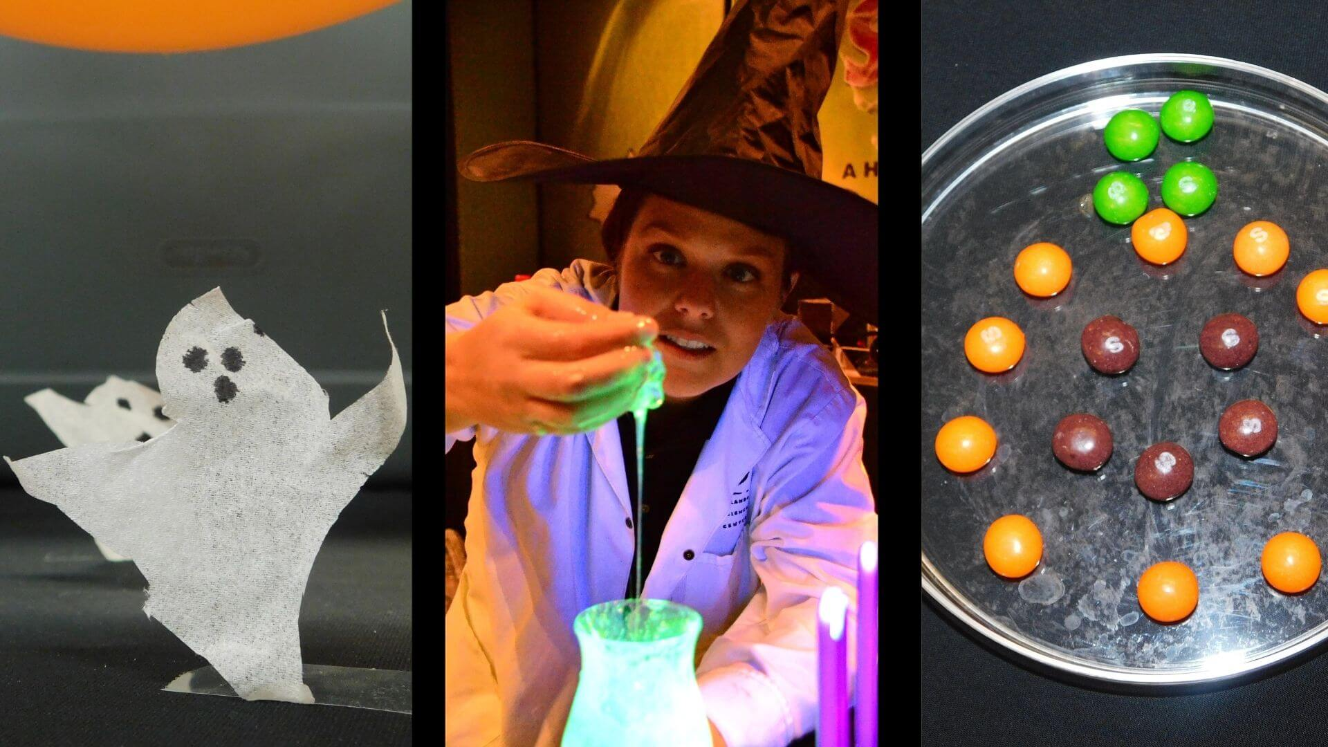 simple spooky STEM experiments