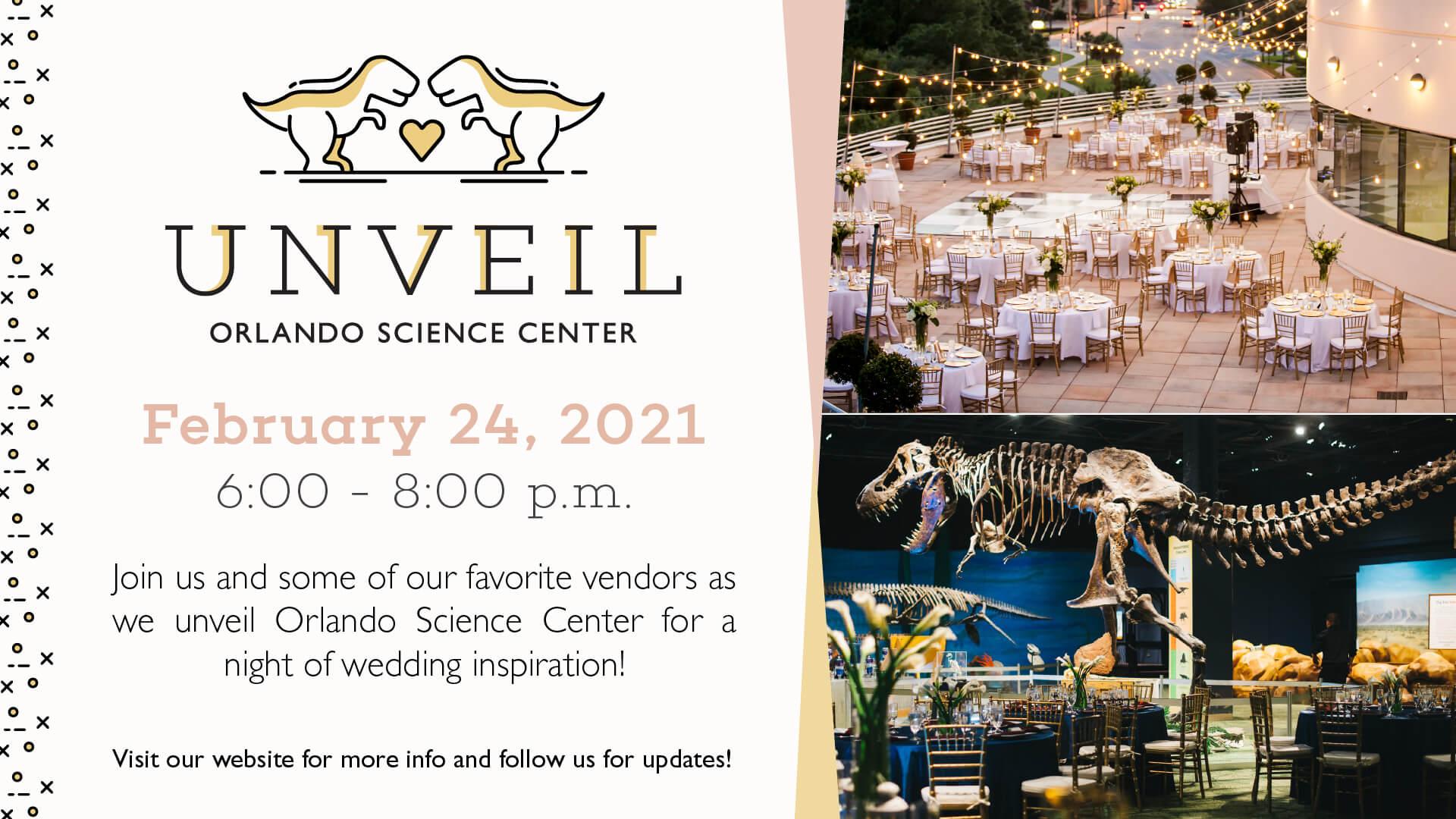 Unveil Wedding Showcase - February 24, 2021, 6:00 - 8:00 pm