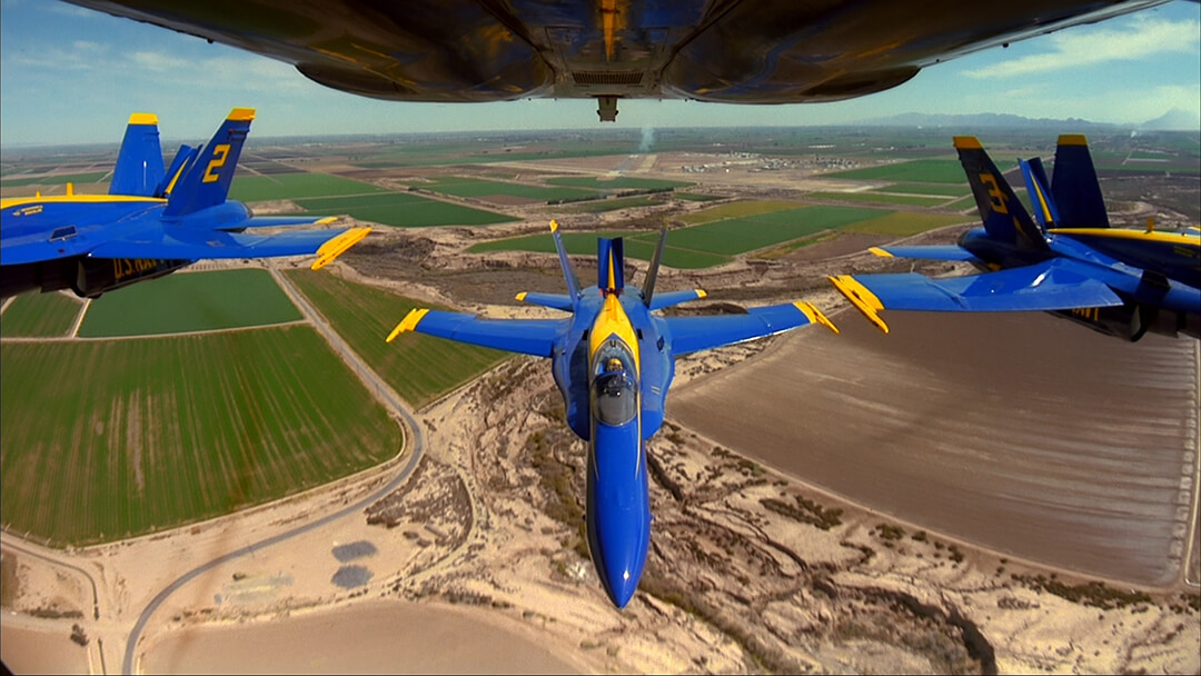 Magic of Flight - photo of Blue Angels jets in close formation