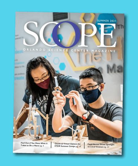 SCOPE Member Magazine Cover for Summer 2021