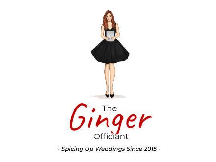 The Ginger Officiant Logo