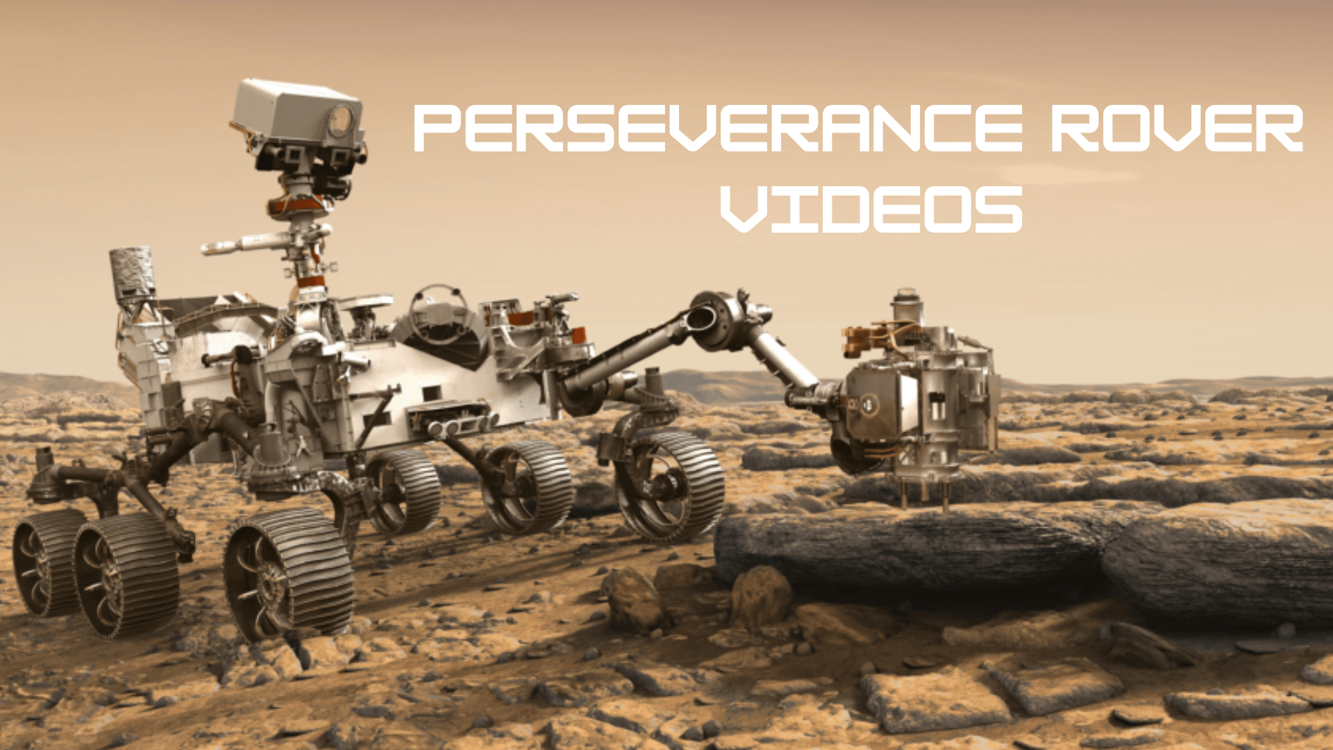 What is the Mars rover up to? Perseverance Rover videos