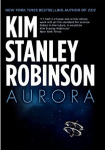 books about exploring space - Aurora by Kim Stanley Robinson