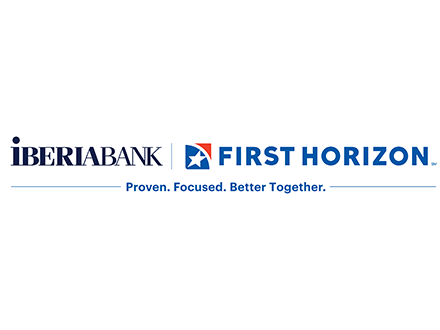 Iberia Bank First Horizon Logo