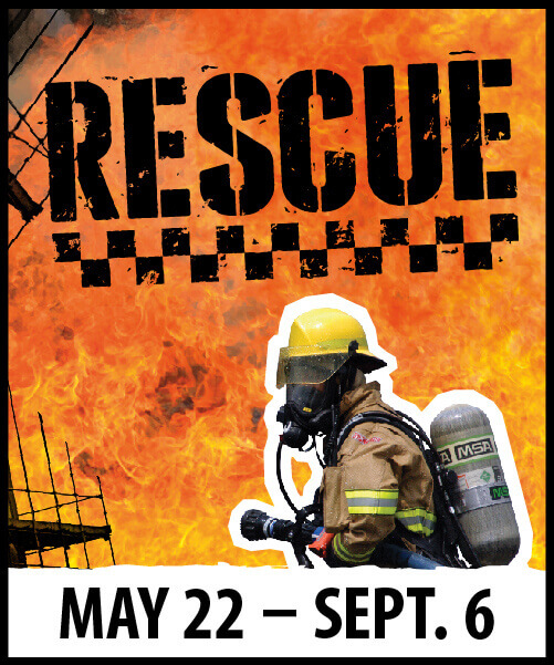 RESCUE Exhibit: May 22 - September 6