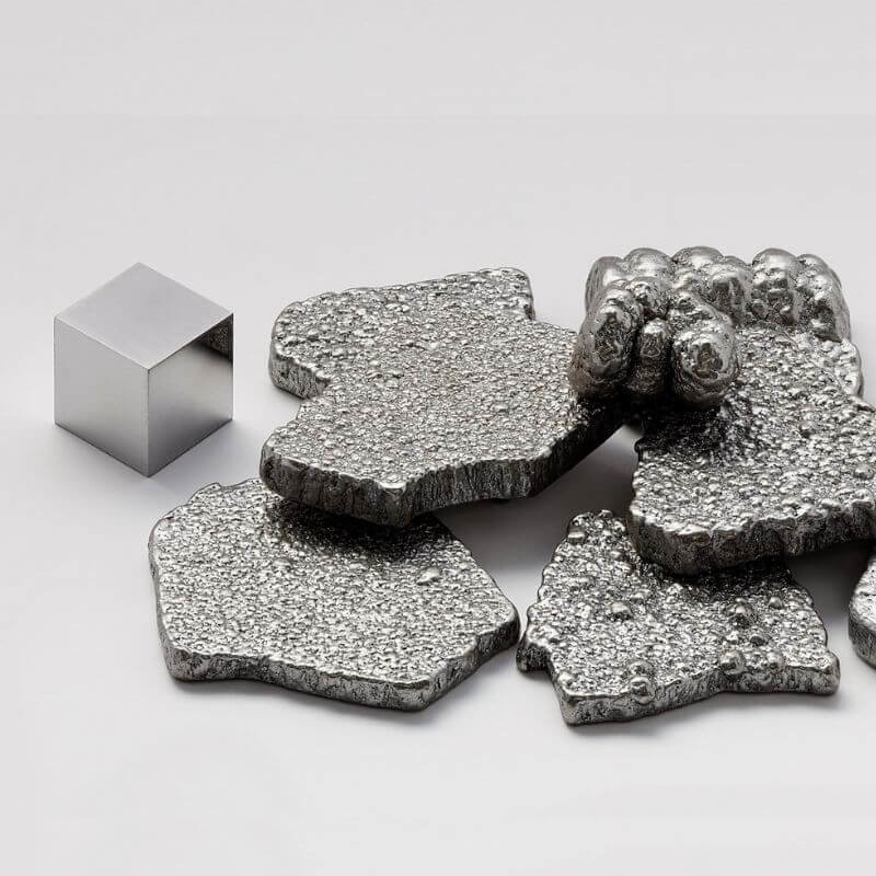 different kinds of metal