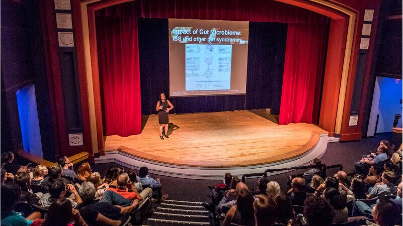 Group Presentation in Digital Adventure Theater