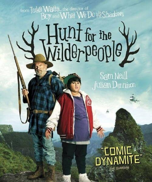 the hunt for the wilderpeople movie cover
