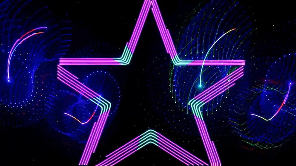 Laser Light Show Imagery