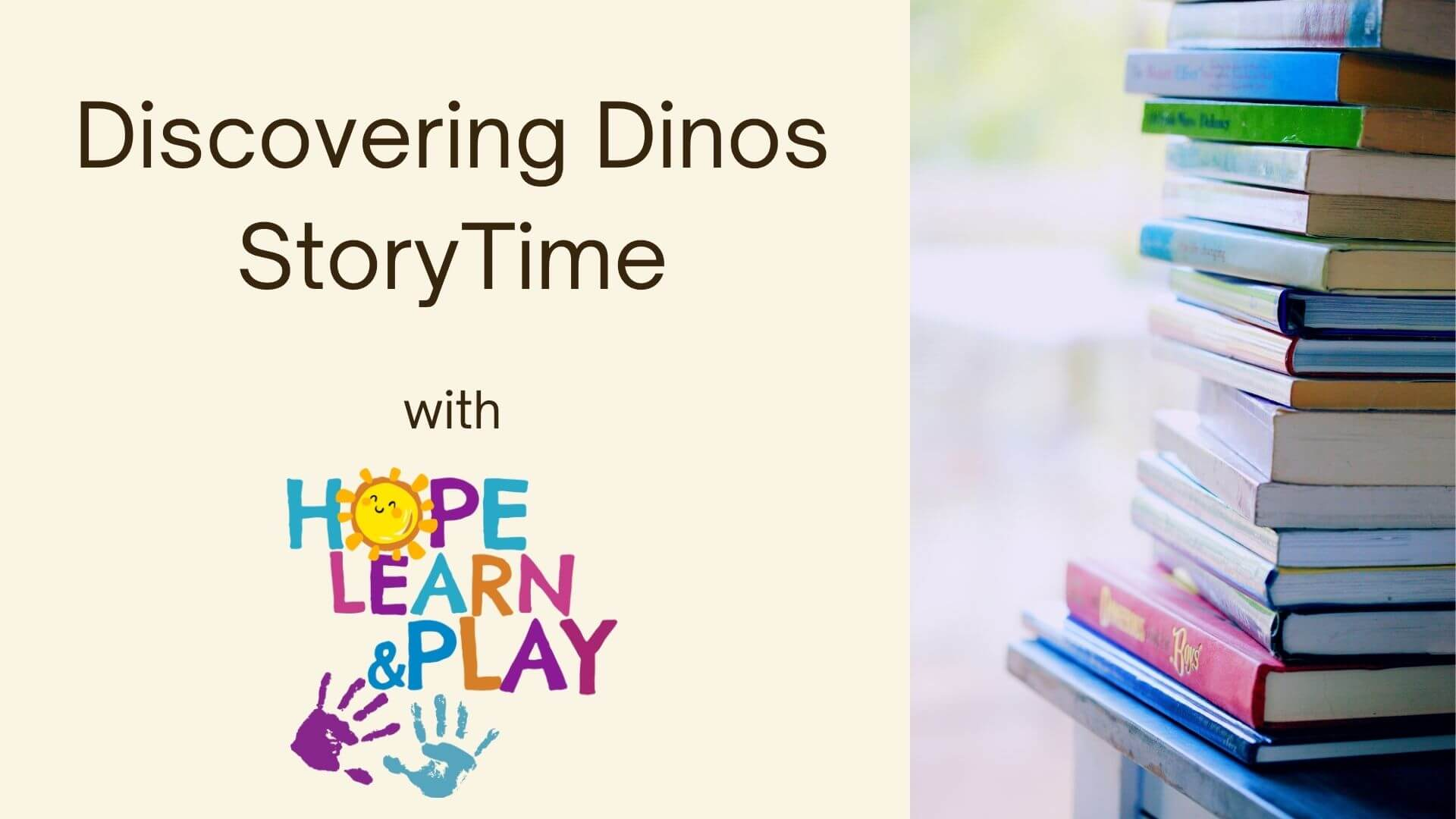 Discovering Dinos Story time