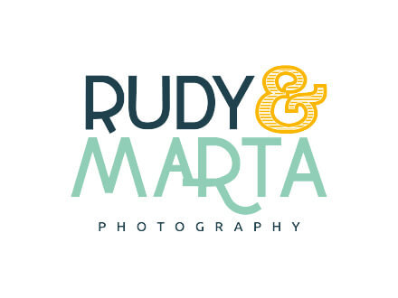 Rudy and Marta Photography Logo