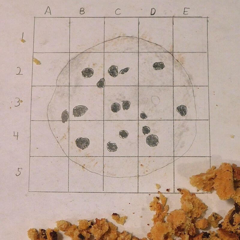 an excavated cookie activity for kids